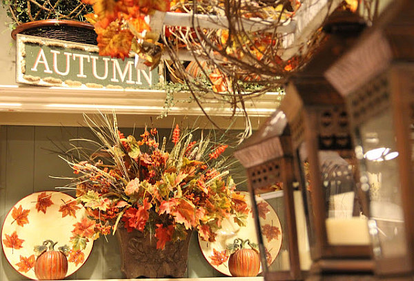 Rich Autumn Decor For The Merry Of Your Home Bring The Cheer In: Beautiful Autumn Decorations ~ stevenwardhair.com Design & Decorating Inspiration