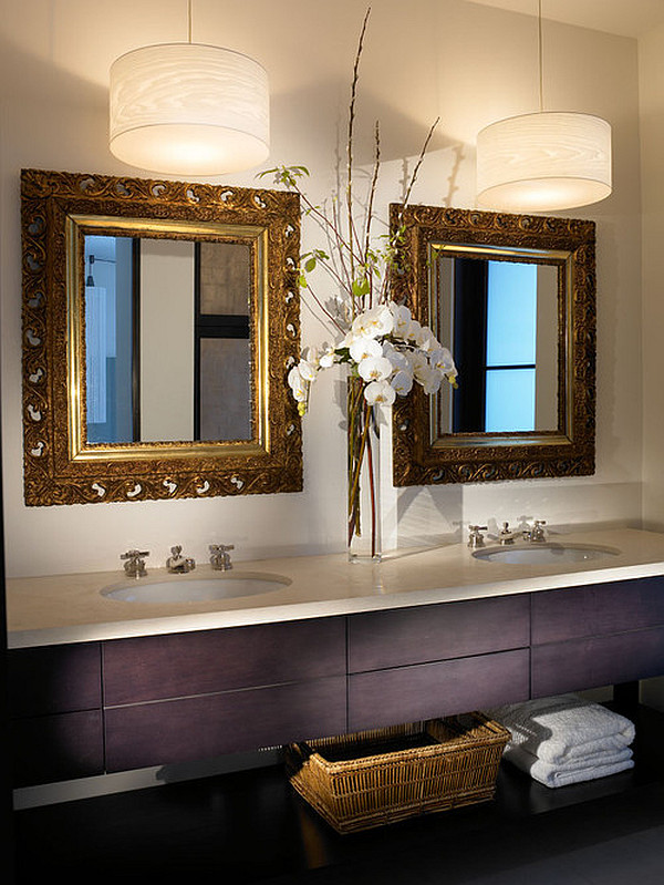 Bathroom Lighting Enchanted Beauty : Beautiful Bathroom Pendant Lamps1