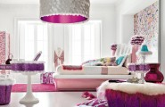 Teenage Bedroom Ideas Of Boys And Girls : Beautiful Girl Bedroom Decor Big Chandelier Teenage Bedroom Ideas