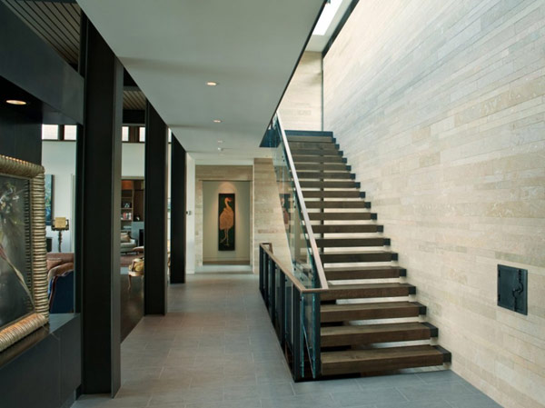 Astonishing Washington Park Hilltop Residence: Beautiful Staircase Design