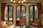 Lively Curtain Designs For Windows With Astounding Color Scheme : Beauty Shading Window Treatment Ideas For Living Room