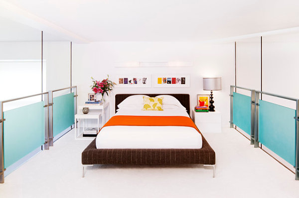 20 Contemporary Ideas Of Enchanting Adult Loft Beds: Bed In A Chelsea Loft