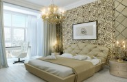 Attention Grabbing Bedroom Walls To Make Your Room Marvelous : Bedroom Accent Wall