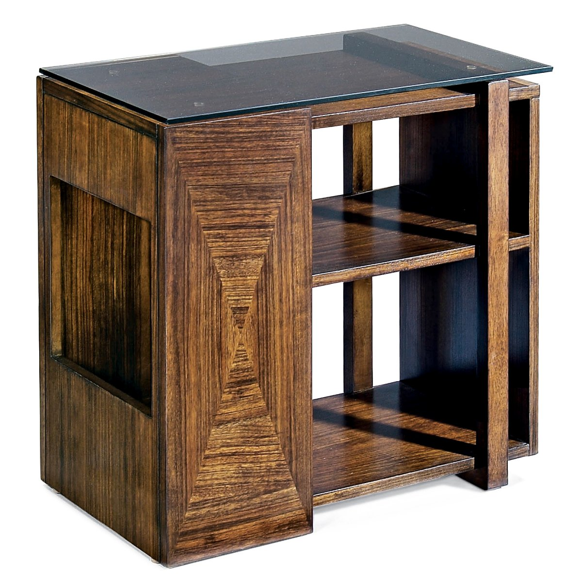 Beautify Your Home With Aesthetic Narrow Coffee Table: Bernhardt Stewart Chair Side Table