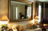 Wall Mirrors For Living Room: Doing It Right : Big Decorative Wall Mirrors Design