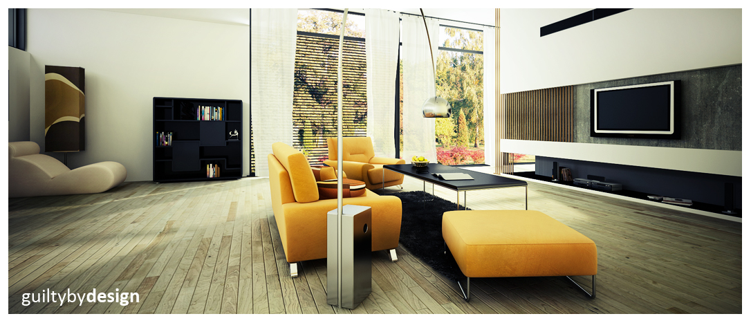 Excellent Bachelor Pad Ideas With Modern Taste : Bizkitfan Yellow Sofa