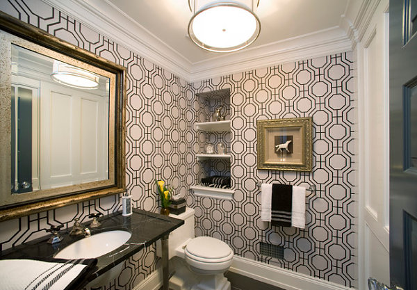 Stylish Highlight Of 12 Honeycomb Pattern : Black And White Honeycomb Wallpaper