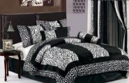 Zebra Print Bedroom Ideas For Girls : Black And White Zebra Print Furniture