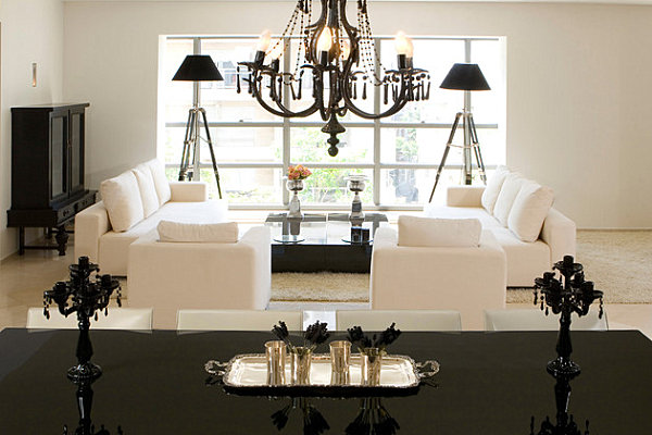 Lacquered Furniture For Gorgeous Interior Performance: Black Lacquered Dining Table ~ stevenwardhair.com Furniture Inspiration