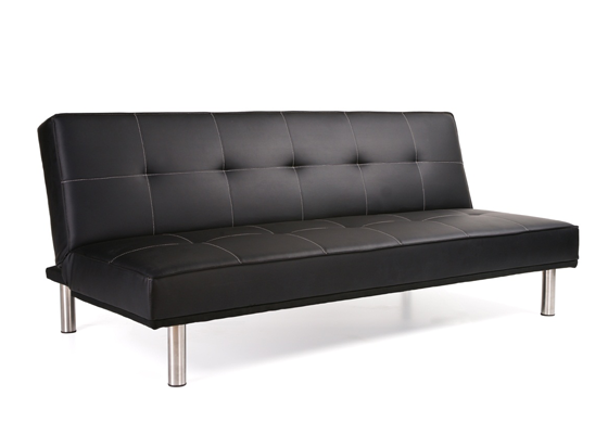 Cheap Sofa Beds: Brand Comparisons: Black Sofa Bed Milan