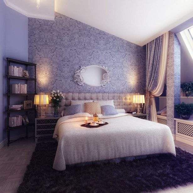 Traditional Elegant Bedroom: Classic And Dramatic: Blue Cream Bedroom Decor ~ stevenwardhair.com Bedroom Design Inspiration