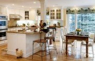 Country Kitchen Designs, Get Warm Feeling : Bright Country Kitchen Design