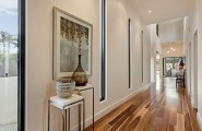 Classy Melbourne Home With Stunning Panorama : Bright Hallway Design