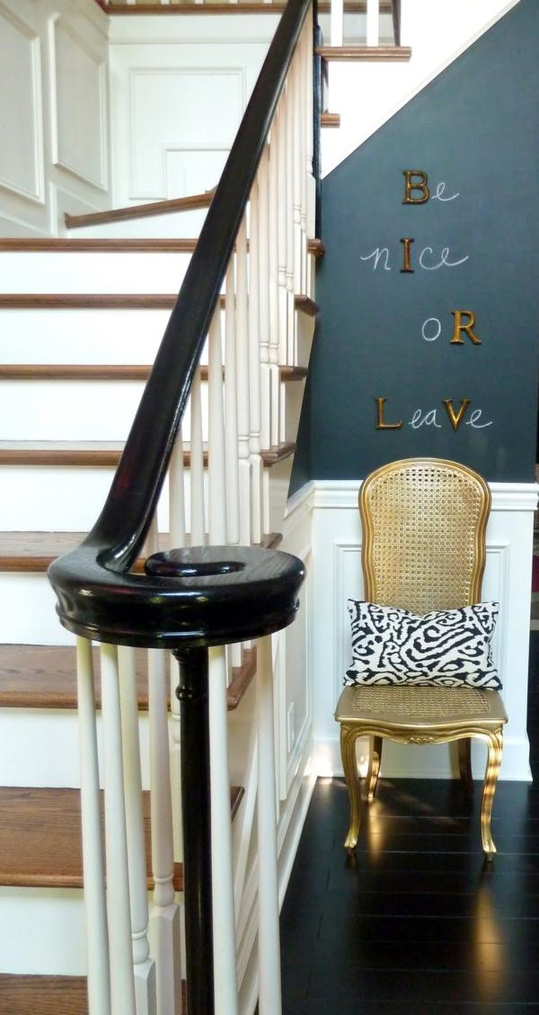 Brilliant Chalkboard Wall Designing Ideas : CasaSugar Entryway3