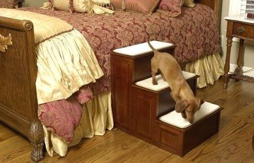 Dog Stairs For Bed For Your Animal Buddy: Cat And Dog Home Decor Pet Stairs