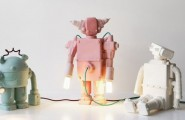 Simple Guide For London Design Festival 2014 : Ceramic Robot Lamps At 19 Greek Street