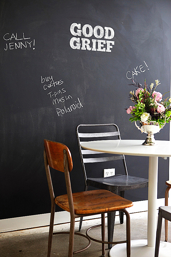 Brilliant Chalkboard Wall Designing Ideas: Chalkboard Paint Dining Room ~ stevenwardhair.com Tips & Ideas Inspiration