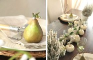 Cool Modern Furniture With Shabby Tulip Tables And Chairs : Charming Shabby Chic Tablescape With Stylish Traditional Table Decor Ideas