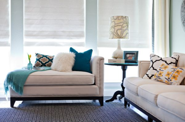 Elegant Interior With Everlasting Chaise Lounge Chair: Chic Living Room With A Gorgeous Upholstered Chaise Lounge ~ stevenwardhair.com Chairs Inspiration