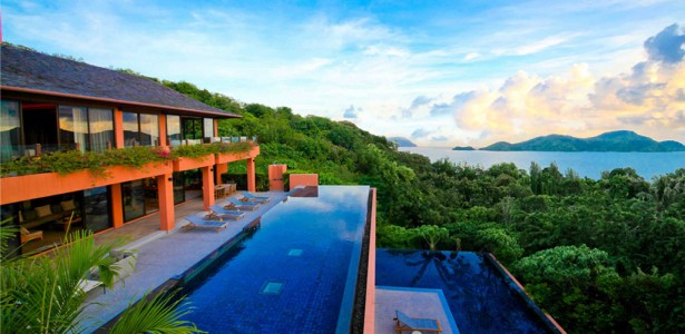 Large Infinity Pool In Your House : Chic Resort Luxury Private Large Infinity Pool Villa Thailand Facing Ocean