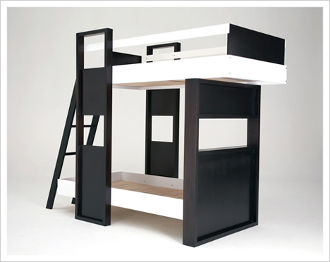 Children's Bunk Beds Safety Rules: Choosing The Modern Bunk Beds For Childrens Limited Space
