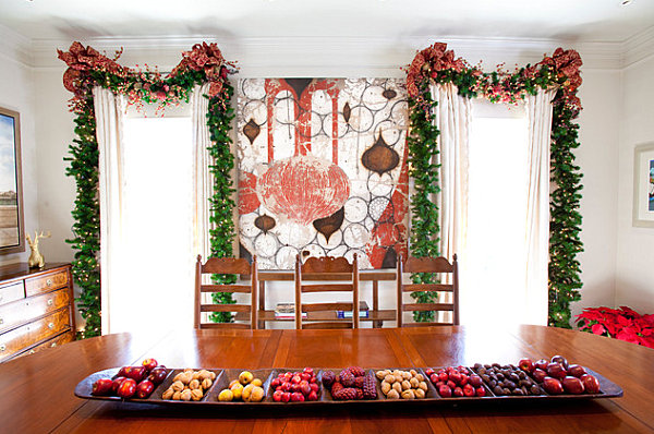 Delicious Fruit Home Decor Ideas To Cheerful Interior: Christmas Decorations With A Fruity Twist