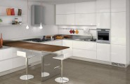 Creative Room Ideas, Applying Magnificent Wooden Theme : Classic Kitchen With Minimalist Interior