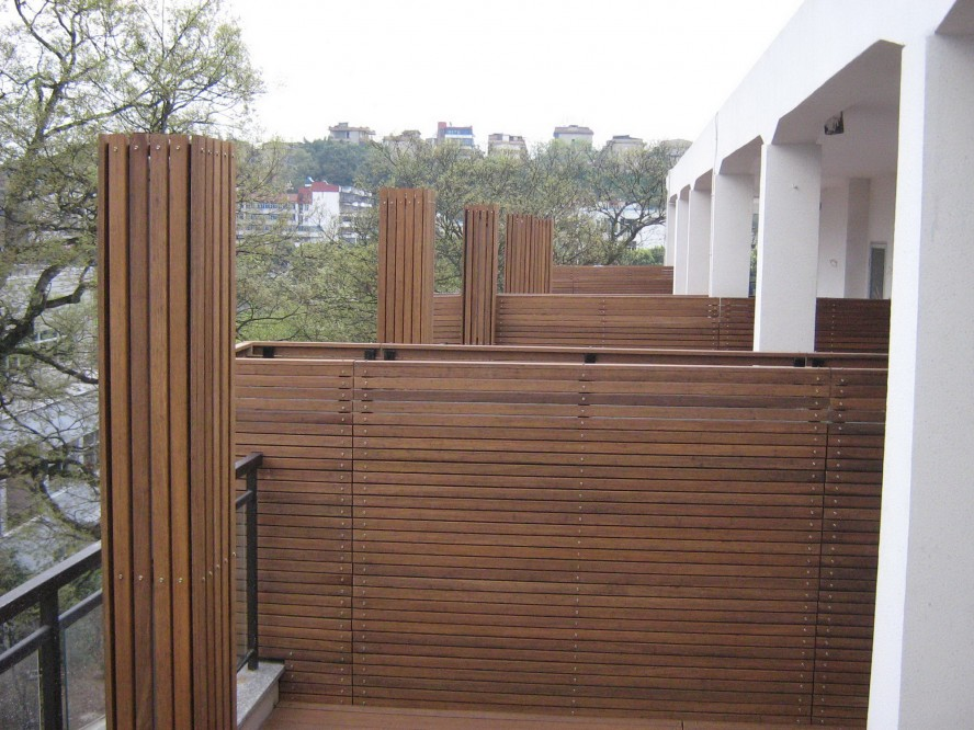 Great Designs Of Bamboo Panel Idea For Your Space : Classy Designs Of Bamboo Panel Modern Style Minimalsit Outdoor Ideas