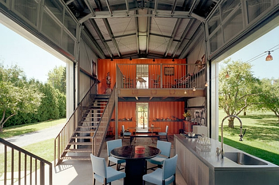 Luxury Prefab Homes: How To Customize A Factorized: Classy Modern Styel Luxury Prefab House Double Staircase Design