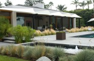 Great Modern Landscape Idea Comes With The Amazing Scenery : Clearly Defined Areas In A Modern Landscape