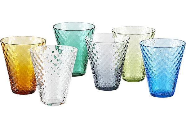 Beautiful Mother`s Day Gift Bring The Warmth To The Heart : Colorful Cordial Glasses