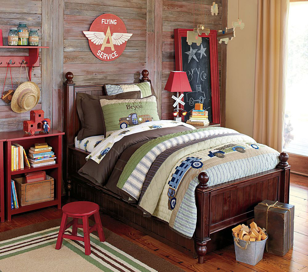 Enjoyable Colorful Bedroom For Unique Room Coloring : Colorful Kids Bedroom Design Collections By Pottery Barn Kids