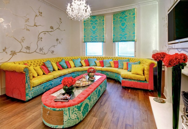 Interior Designs For Living Rooms Aspects And Statement: Colorful Living Room Furniture Sofa Cushions Interior Designs For Living Rooms ~ stevenwardhair.com Interior Design Inspiration