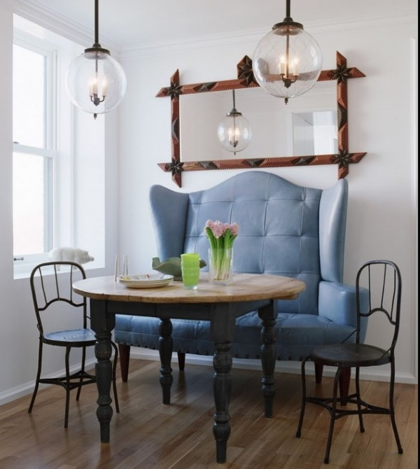 Side Chairs For Dining Room Crafted In Attractive Styles : Combined Seating Styles E1348779909934