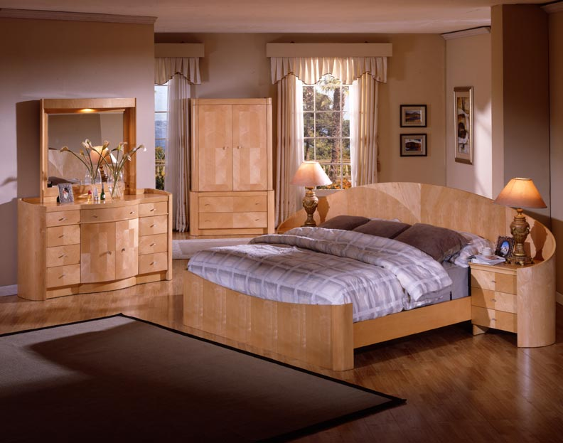 Inspirational Pine Bedroom Furniture Arouse Rustic And Natural View: Contemporary Bedroom Design Pine Bedroom Furniture Cream Curtain