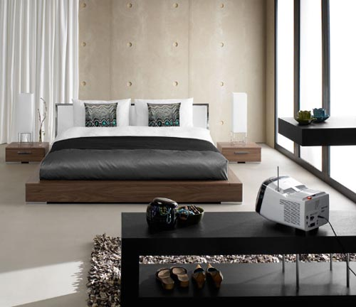 Contemporary Beds, They Unique, They Gorgeous: Contemporary Beds Design From Boconcept Bedroom Furnitue