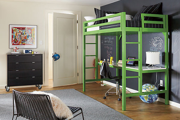 20 Contemporary Ideas Of Enchanting Adult Loft Beds: Contemporary Loft Bed