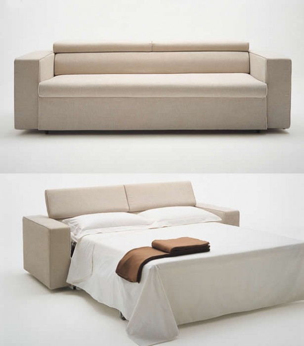 Great Sofa Beds For Small Bedrooms Design: Contemporary Sofa Beds For Small Bedrooms White Cream Color Sectional Design Ideas ~ stevenwardhair.com Bedroom Design Inspiration