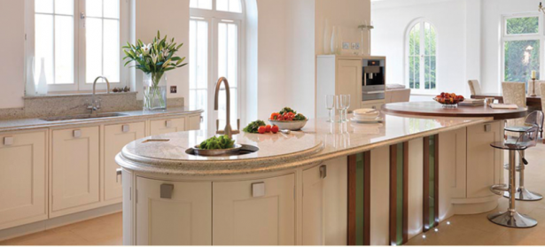 Make A Nice Culinary Space With These Kitchen Designs With Islands: Contemporary White Kitchen ~ stevenwardhair.com Kitchen Designs Inspiration