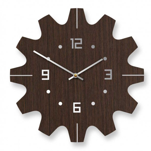 Great Wall Decoration For Contemporary House: Contemporary Wooden Brown Wall Clocks ~ stevenwardhair.com Design & Decorating Inspiration