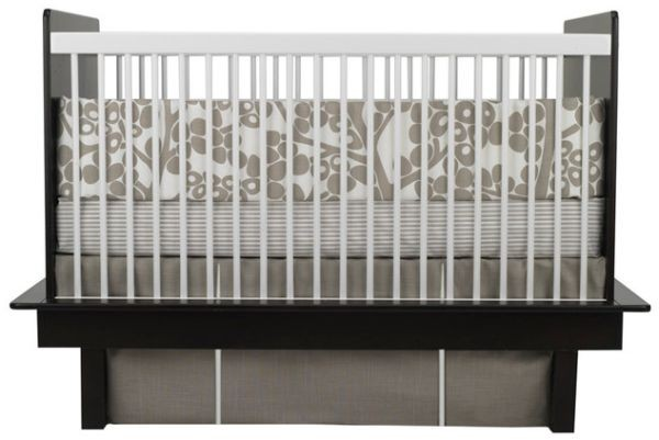 Colorful Baby Boy Nursery Interior Design : Cool And Stylish Oilo Modern Berries Crib Set