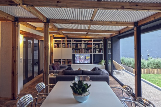 Beautiful Touch Of Decor In Modern Residence: Cool Interior Calero House Design With Contemporary Rustic Decoration Ideas ~ stevenwardhair.com Villas Inspiration