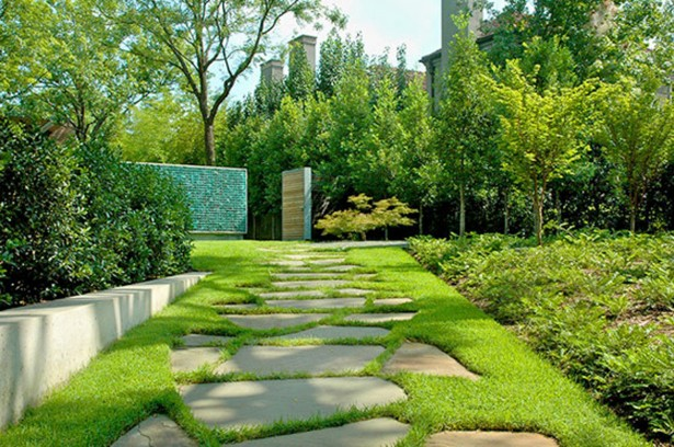 Impressive House Courtyard Is Important In Enjoying The Landscape: Cool Landscaping Design And Construction Outdoor Garden ~ stevenwardhair.com Home Design Inspiration