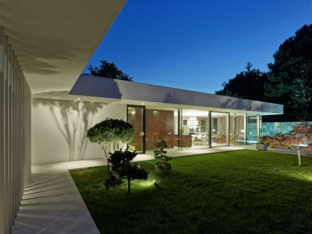 Contemporary Home Design: The A&B House In Austria: Cool Lighting Idea For The Backyard ~ stevenwardhair.com Contemporary Home Design Inspiration