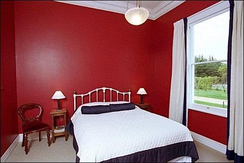 Bedroom Colours For 2014 Inspirations: Cool Red Teen Room