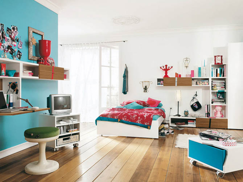 Inspirational Cool Room Designs For Guys With Directed Theme: Cool Teen Bedroom Design
