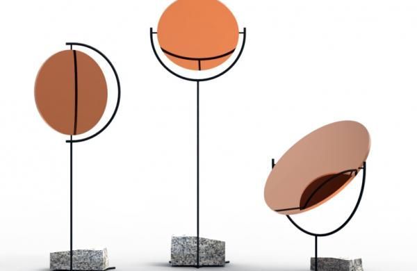 Simple Guide For London Design Festival 2014 : Copper And Stone Based Mirrors At Gallery Libby Sellers