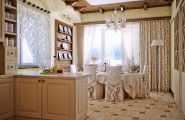 Exciting Kitchen Dining Ideas For Small House : Country Style Kitchen Dining Area