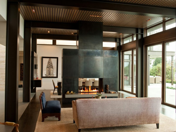 Astonishing Washington Park Hilltop Residence: Cozy Living Room ~ stevenwardhair.com Apartments Inspiration