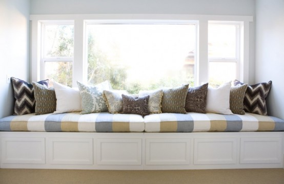 Window Seat Designs For Relaxation: Cozy Sweet Built In Window Seats Designs